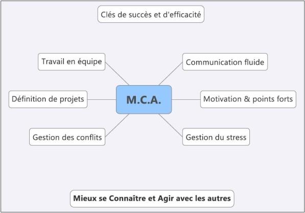 MCA map mind